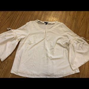 Ivory Bell Sleeved Blouse